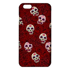 Funny Skull Rosebed Iphone 6 Plus/6s Plus Tpu Case