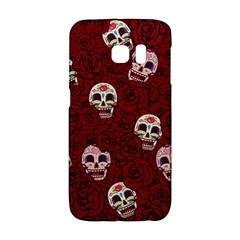 Funny Skull Rosebed Galaxy S6 Edge