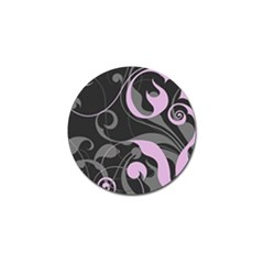 Floral Pattern Golf Ball Marker (10 Pack) by Valentinaart