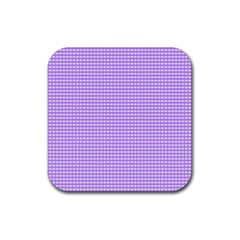 Color Rubber Square Coaster (4 Pack)  by Valentinaart