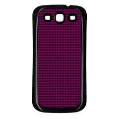 Color Samsung Galaxy S3 Back Case (black) by Valentinaart