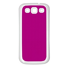 Color Samsung Galaxy S3 Back Case (white) by Valentinaart