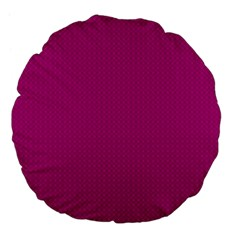 Color Large 18  Premium Flano Round Cushions by Valentinaart