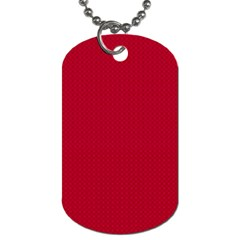 Color Dog Tag (one Side) by Valentinaart