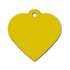 Color Dog Tag Heart (one Side) by Valentinaart