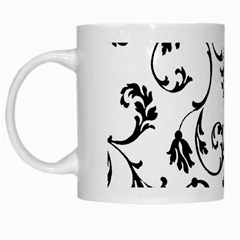 Ornament  White Mugs by Valentinaart