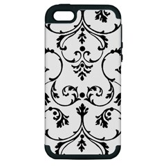 Ornament  Apple Iphone 5 Hardshell Case (pc+silicone) by Valentinaart