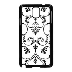 Ornament  Samsung Galaxy Note 3 Neo Hardshell Case (black) by Valentinaart