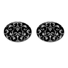 Ornament  Cufflinks (oval) by Valentinaart