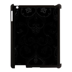 Ornament  Apple Ipad 3/4 Case (black) by Valentinaart