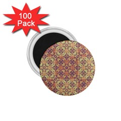 Vintage Ornate Baroque 1 75  Magnets (100 Pack)  by dflcprints