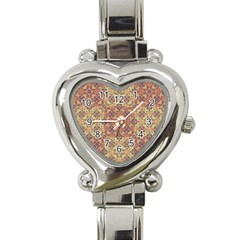 Vintage Ornate Baroque Heart Italian Charm Watch by dflcprints