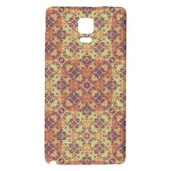 Vintage Ornate Baroque Galaxy Note 4 Back Case by dflcprints