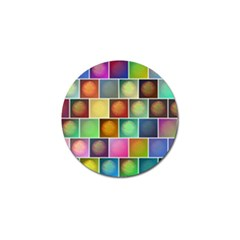 Multicolored Suns Golf Ball Marker (10 Pack) by linceazul