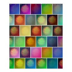 Multicolored Suns Shower Curtain 60  X 72  (medium)  by linceazul