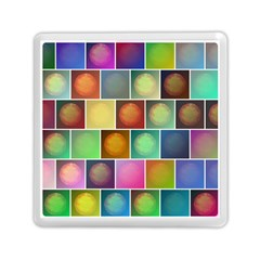 Multicolored Suns Memory Card Reader (square)  by linceazul