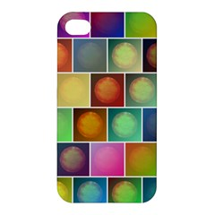 Multicolored Suns Apple Iphone 4/4s Premium Hardshell Case by linceazul