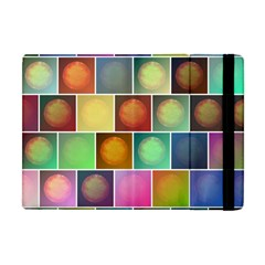 Multicolored Suns Apple Ipad Mini Flip Case by linceazul