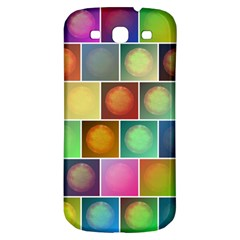 Multicolored Suns Samsung Galaxy S3 S Iii Classic Hardshell Back Case by linceazul