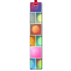 Multicolored Suns Large Book Marks by linceazul
