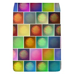 Multicolored Suns Flap Covers (s)  by linceazul