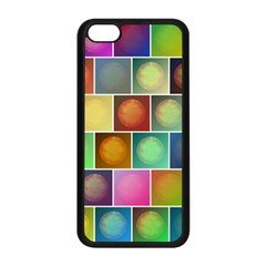 Multicolored Suns Apple Iphone 5c Seamless Case (black) by linceazul