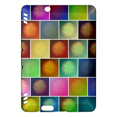 Multicolored Suns Kindle Fire Hdx Hardshell Case by linceazul