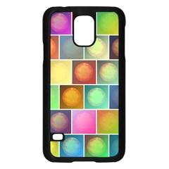 Multicolored Suns Samsung Galaxy S5 Case (black) by linceazul