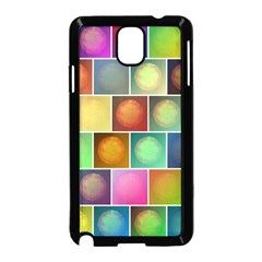 Multicolored Suns Samsung Galaxy Note 3 Neo Hardshell Case (black) by linceazul