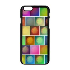 Multicolored Suns Apple Iphone 6/6s Black Enamel Case by linceazul