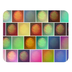 Multicolored Suns Double Sided Flano Blanket (large)  by linceazul