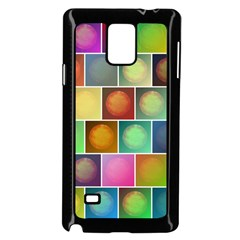 Multicolored Suns Samsung Galaxy Note 4 Case (black) by linceazul