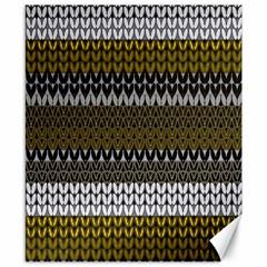 Pattern Canvas 8  X 10  by Valentinaart