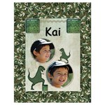 Kids Dino Large Bag - Drawstring Bag (Large)