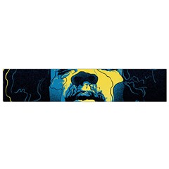 Gabz Jimi Hendrix Voodoo Child Poster Release From Dark Hall Mansion Flano Scarf (small) by Onesevenart