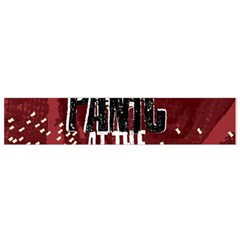 Panic At The Disco Poster Flano Scarf (small) by Onesevenart