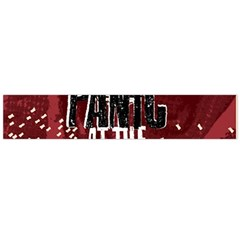 Panic At The Disco Poster Flano Scarf (large) by Onesevenart