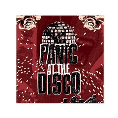 Panic At The Disco Poster Small Satin Scarf (square) by Onesevenart