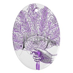Panic At The Disco Ornament (oval) by Onesevenart