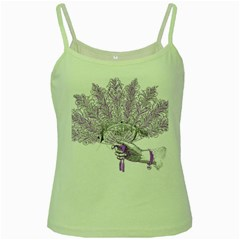 Panic At The Disco Green Spaghetti Tank by Onesevenart