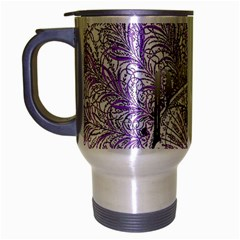 Panic At The Disco Travel Mug (silver Gray) by Onesevenart