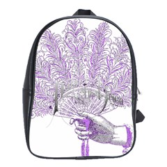 Panic At The Disco School Bags(large)  by Onesevenart