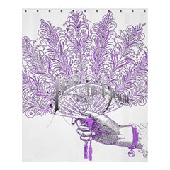 Panic At The Disco Shower Curtain 60  X 72  (medium)  by Onesevenart