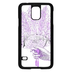 Panic At The Disco Samsung Galaxy S5 Case (black) by Onesevenart