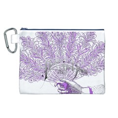 Panic At The Disco Canvas Cosmetic Bag (l) by Onesevenart