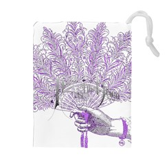 Panic At The Disco Drawstring Pouches (extra Large) by Onesevenart