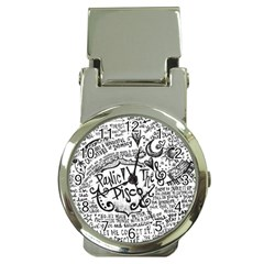 Panic! At The Disco Lyric Quotes Money Clip Watches by Onesevenart