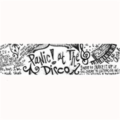 Panic! At The Disco Lyric Quotes Large Bar Mats by Onesevenart