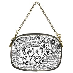 Panic! At The Disco Lyric Quotes Chain Purses (two Sides)  by Onesevenart