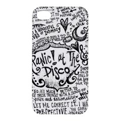 Panic! At The Disco Lyric Quotes Apple Iphone 4/4s Premium Hardshell Case by Onesevenart